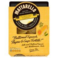 Mattarello butternut squash thyme&sage tortelli.