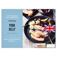 Waitrose slow cooked pork belly