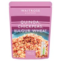 Waitrose LOVE life quinoa, chickpeas bulgar wheat & rice