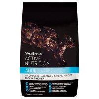 Waitrose active nutrition adult rich in beef