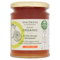 Duchy Originals organic seville orange marmalade thick cut
