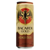 Bacardi Gold & Ginger Beer