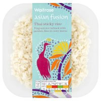 Waitrose Asian fusion Thai sticky rice
