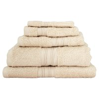 Waitrose Home Egyptian cotton ivory guest towel