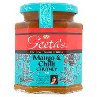 Geeta's chutney hot mango & chilli