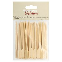 Waitrose Outdoors Bamboo Skewers 10cm