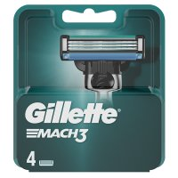 Gillette Mach 3 Manual Razor Blades 4 count