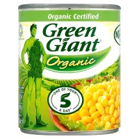 Green Giant canned organic sweetcorn