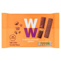 WeightWatchers caramel wafers
