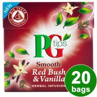 PG Tips smooth red bush & vanilla 20 bags
