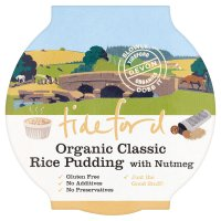 Tideford classic rice pudding