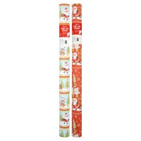 Waitrose Christmas 10m woodland wrap