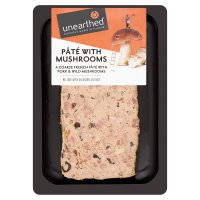 Unearthed Breton coarse country pâté with wild mushrooms