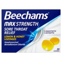 Beechams Throat Lozenge Lemon&Honey