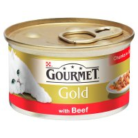 Gourmet Gold chunks with beef