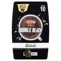 Cafepod Double Black Capsules