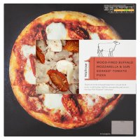 Waitrose 1 wood-fired buffalo mozzarella & sun soaked tomato pizza
