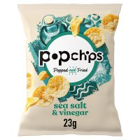 Popchips potato chips - salt & vinegar