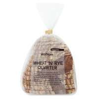 Waitrose light rye quarter