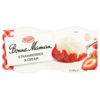 Bonne Maman Strawberries & Cream