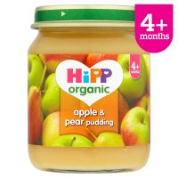 Hipp organic apple & pear pudding - stage 1