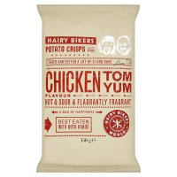 H.Bikers crisps chicken tom yum