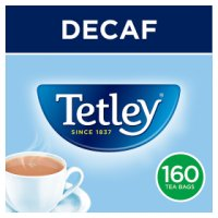 Tetley decaf 160 tea bags