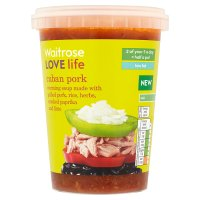 Waitrose LOVE life Cuban pork soup