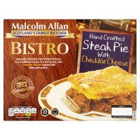 Malcolm Allan Bistro Steak Pie with Cheddar Cheese