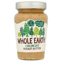 Whole Earth crunchy original peanut butter