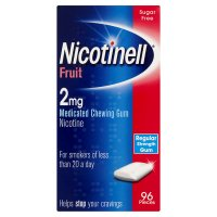Nicotinell fruit chewing gum, 2mg