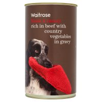 Waitrose chunks in gravy beef & veg