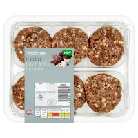 Waitrose 6 Mini Lamb Kefta Burgers