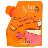 Ella's Kitchen Organic mangoes and apples baby porridge baby food