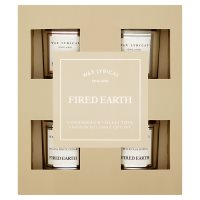 Fired Earth Candle Gift Set