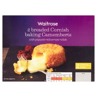 Waitrose Breaded Cornish camembert 2s