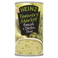 Heinz farmer's market broccoli & stilton soup