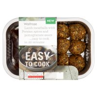 Easy to Cook lamb meatballs with Persian spices