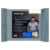 Waitrose Vintage Farmhouse Cheddar