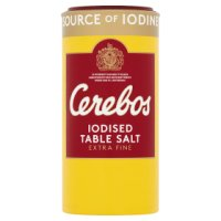 Cerebos extra fine iodised table salt