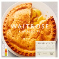 Waitrose Frozen Bramley apple pie
