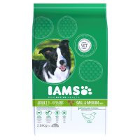 Iams Adult 1-6 Years Small & Medium Chicken