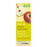 Waitrose pure pressed english apple juice