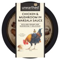 Unearthed chicken & mushroom in marsala sauce