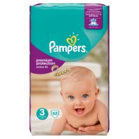 Pampers Active Fit Sz 3 Large 60 Nappies