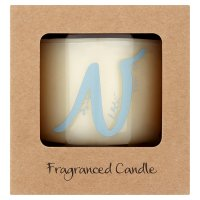 Waitrose Alphabet N Coconut & Sandalwood Candle