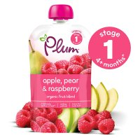Plum apple, pear & raspberry