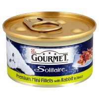 Gourmet Solitaire fillets with rabbit in sauce