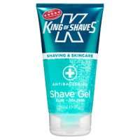King of Shaves shave gel sensitive skin anti-bacterial