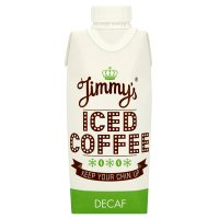 Jimmy's decaf iced coffee